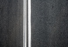 Close-up texture of an asphalt road Royalty Free Stock Image