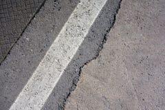 Asphalt road Close-up Stock Photography
