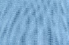 Close Up Texture Background of Blue Polyester Fabric Royalty Free Stock Image