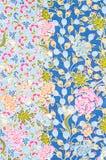 Beautiful of art Thai Batik Pattern stock photography