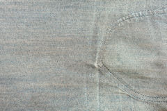 Close up texture of blue jean or denim Stock Photo