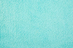 Close up texture of blue towel use as background Royalty Free Stock Photos
