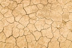 Texture of cracked soil ground royalty free stock photos