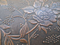 Close Up Texture Embossed Rose Stock Photos