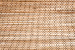 Close up texture of native thai style weave sedge mat background Royalty Free Stock Image