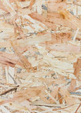 Close up texture of oriented strand board - OSB Royalty Free Stock Image
