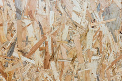 Close up texture of oriented strand board - OSB Stock Photos