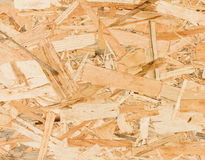 Close up texture of oriented strand board (OSB) Royalty Free Stock Photo