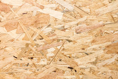 Close up texture of oriented strand board (OSB) Stock Photography