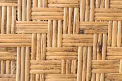Close up texture rattan pattern yellow color from bamboo for background, texture, pattern. Natural organic wood texture Stock Photo