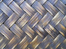 Close Up Texture Rattan Weave Macro Stock Image