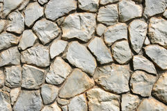 Close up texture of stone wall Royalty Free Stock Photos