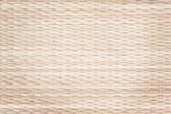 Texture straw mats wicker patterns for background royalty free stock image
