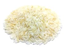 Heap of Thai rice. stock images