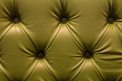 Close up texture of vintage leather sofa for background Stock Photo