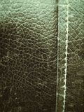 Close-up texture of vintage leather sofa Royalty Free Stock Photo