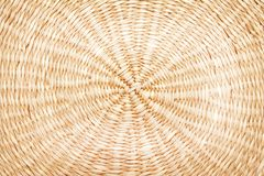 Texture woven circle pattern made from trunk of dried plant. Close up Texture woven circle pattern made from trunk of dried plant royalty free stock photography
