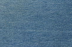 Textured blue jeans Stock Images
