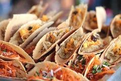 Close up of thai crispy pancake Royalty Free Stock Images