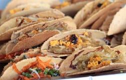 Close up of thai crispy pancake Royalty Free Stock Photo