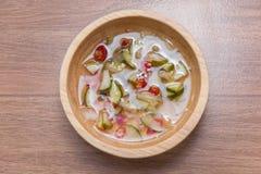 Thai Cucumber Relish sauce Stock Photos