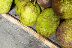 Close up thai jack fruit. In market Stock Photo