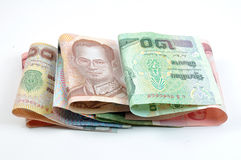 Close up of thai money Stock Photo