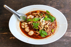 Close up Thai noodle. Royalty Free Stock Photography