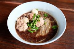 Close up Thai noodle Royalty Free Stock Images