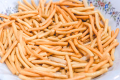 Close up thai snack, junk food unhealthy eat Stock Photo