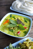Close up thai spicy chicken curry Royalty Free Stock Images