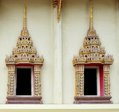 Close up on Thai Temple Royalty Free Stock Photos