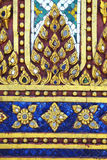 Close up thai temple wall. In thailand Stock Photo