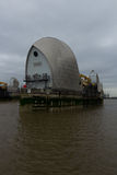 Close up of the Thames Barrier Royalty Free Stock Image