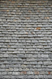 Close up of thick slates in Brittany Stock Photography