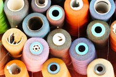 Close up threads Stock Photography
