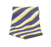 Close up of Tie a colorful striped Stock Photo