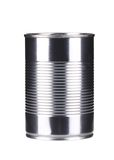 Close up of tin can. Stock Images