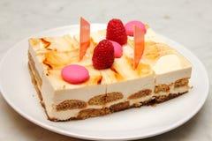 Close up of tiramisu cake Stock Photography
