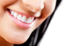 Close-up to a smile Royalty Free Stock Photos