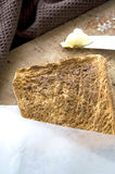 Close up toasted. Close up burn toasted bread royalty free stock photo