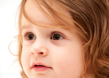 Close up of Toddler Royalty Free Stock Photos
