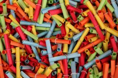 Close up of tombola tickets royalty free stock images