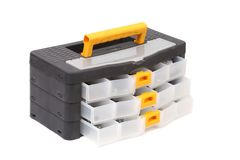 Close up of tool box. Isolated on a white backgropund royalty free stock image