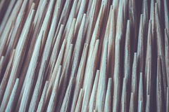 Close up Toothpick macro background Stock Photo