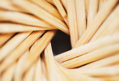 Close-up toothpicks Stock Photos