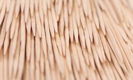 Close up of toothpicks abstract composition. Stock Photography