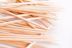 Close-up of toothpicks Stock Image
