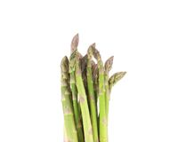 Close up of top asparagus. Stock Photography