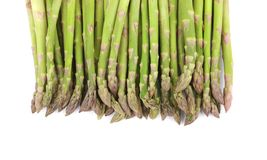 Close up of top asparagus. Royalty Free Stock Photo